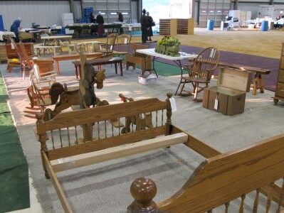 Blankets Tables and Chairs other side
